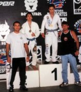 Marcello's student wins Brazilian Championship, beating the Japanese.