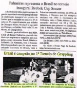 "Marcello's beginning students, turned into champions""Jornal A Voz da Serra"""