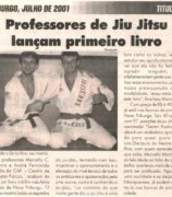 Jiu-Jitsu teachers launch the first Jiu-Jitsu book in Brazil
