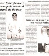 Jiu-Jitsu book is launched by a Magazine in Rio Janeiro